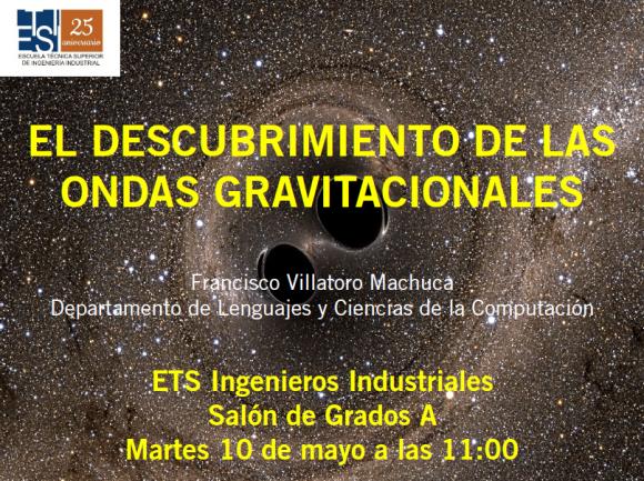 Dibujo20160509 descubrimiento ondas gravitacionales conference etsii uma es