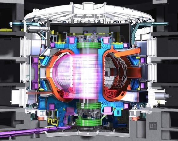Dibujo20160611 iter design fusion reactor cadarache france