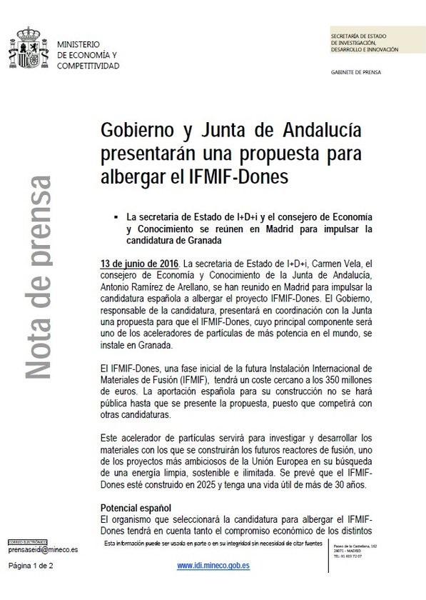 Dibujo20160613 gobierno junta andalucia aprueban presentar una propuesta candidatura granada dones