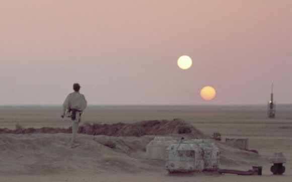 Dibujo20160620 tatooine two suns in star wars george lucas