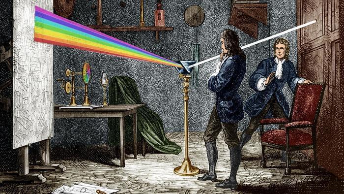 Newton y la dualidad onda-corpúsculo para la luz - La Ciencia de la Mula  Francis