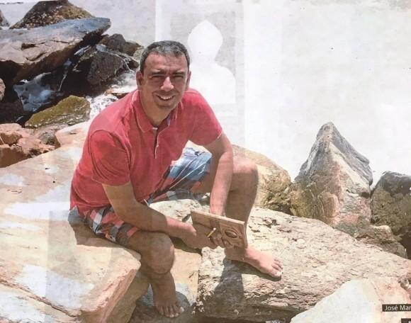 Dibujo20160813 Jose Manuel Lopez Nicolas en Campoamor Foto Fran Manzanera AGM La Verdad Murcia