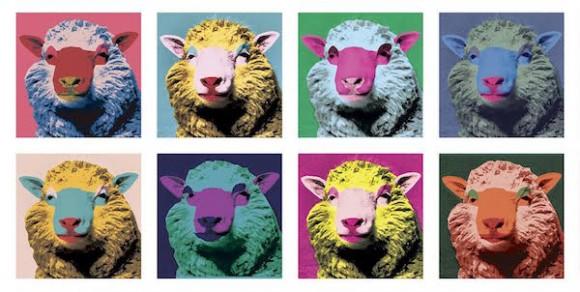 Dibujo20170210 oveja dolly cartel portada encuentros con la ciencia