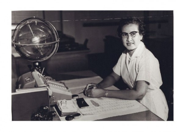 Dibujo20170124 other photograph Katherine Johnson at Langley NASA