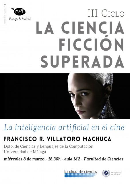 Dibujo20170307 cartel grande inteligencia artificial cine iii ciclo ciencia ficcion superada festival malaga cine
