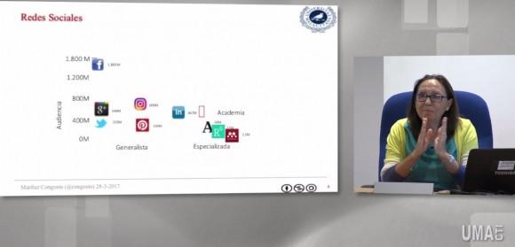 Dibujo20170507 redes sociales mariluz congosto IV Ciencia y Sociedad UMA TV