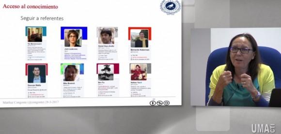 Dibujo20170507 seguir referentes twitter mariluz congosto IV Ciencia y Sociedad UMA TV