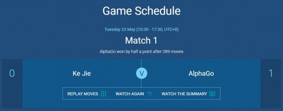 Dibujo20170525 alphago ke jie match 1