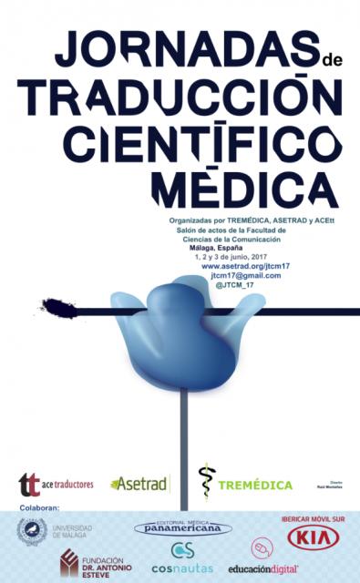 Dibujo20170531 cartel jornadas traduccion cientifico medica 1 3 jun 2017