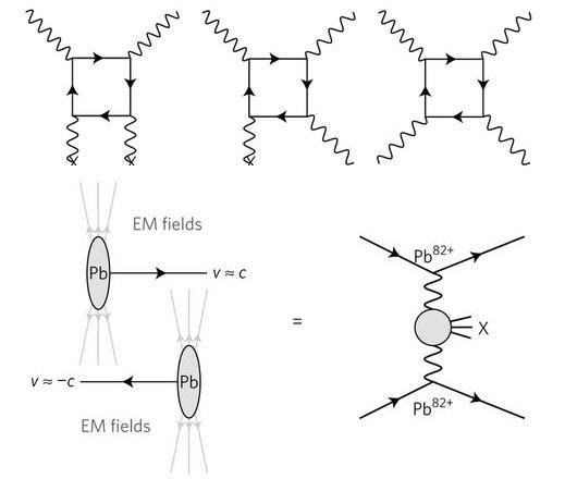 Dibujo20170817 photon photon interaction in lead lead collisions atlas lhc cern