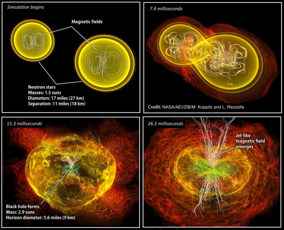 Dibujo20170830 neutron star binary fusion simulation nasa aei zib koppitz rezzolla