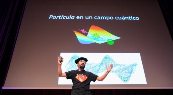 Dibujo20170928 Francis 2 Euskalduna sobre espin Naukas Bilbao 2017 ISO100FOTO