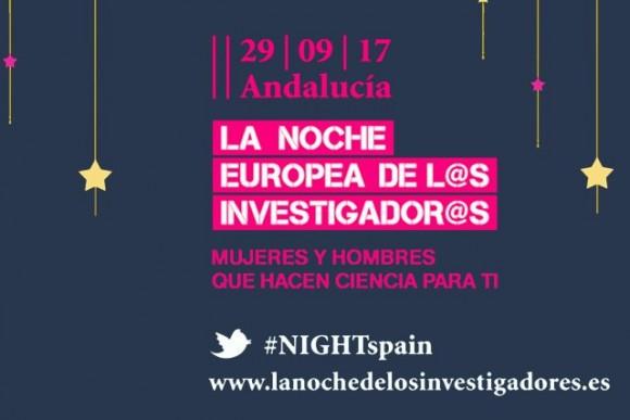 Dibujo20170929 Noche Europea Investigadores Malaga