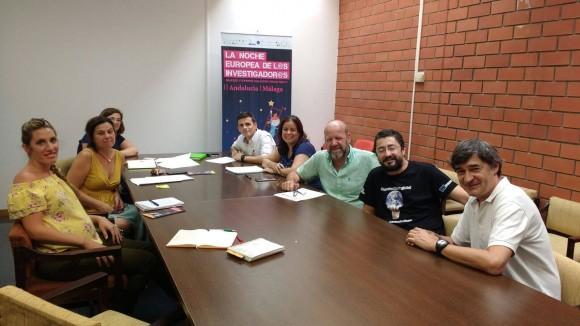 Dibujo20170929 Preparando Mundo Digital TV Noche Europea Investigadores Malaga
