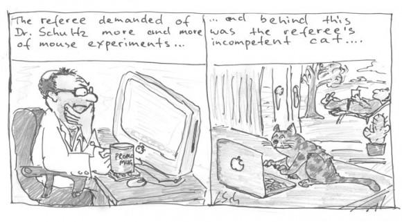 Dibujo20180114 incompetent referee comic leonid schneider forbetterscience com