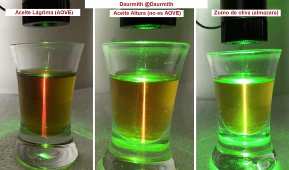 Dibujo20180201-green-laser-three-olive-oils-daurmith-photos