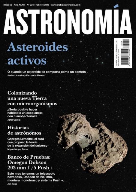 Dibujo20180204 magazine cover astronomia angel gomez roldan