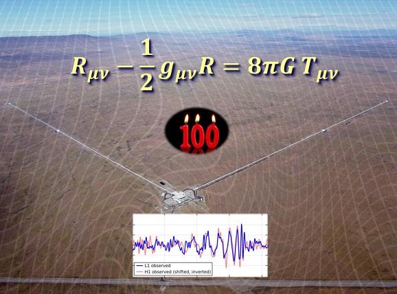 Dibujo20180331 einstein equations 100 years ligo observatory