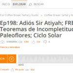 Podcast CB S&R 198: Varias noticias científicas