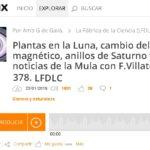 Francis en LFDLC: Anillos de Saturno y otras noticias (programa 378)