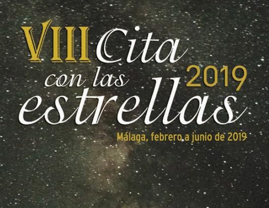 Conferencias en Málaga: VIII cita con las estrellas 2019