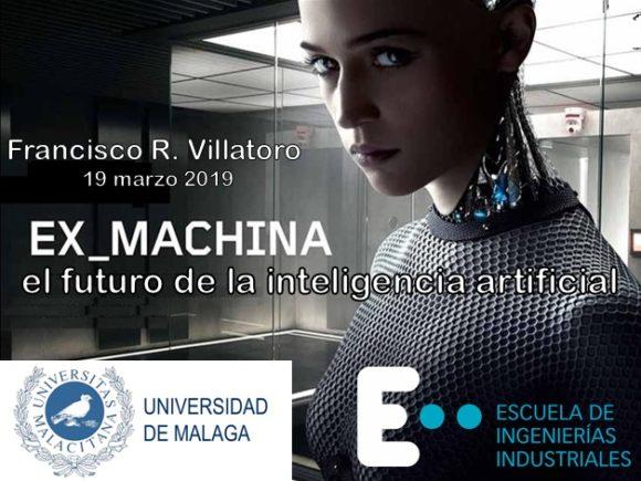 """Francis en Málaga: Conferencia """"Ex Machina y el futuro de la inteligencia artificial"""""""