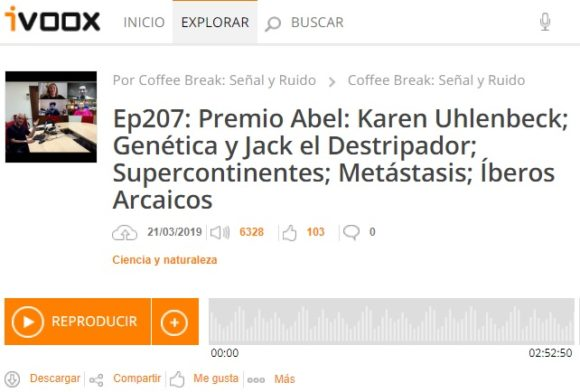 Podcast CB S&R 207: Matemáticas, Física, Genética y más