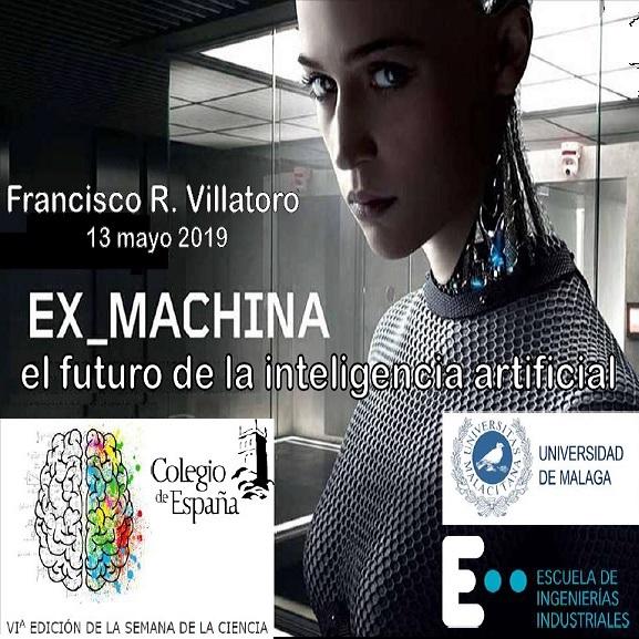 """Francis en Colegio de España (París): Conferencia """"Ex Machina y el futuro de la inteligencia artificial"""""""