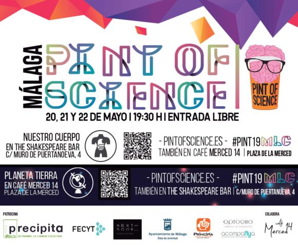 No te pierdas Pint of Science 2019 Málaga