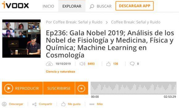 Podcast CB SyR 236: Premios Nobel de ciencias de 2019 y otras noticias