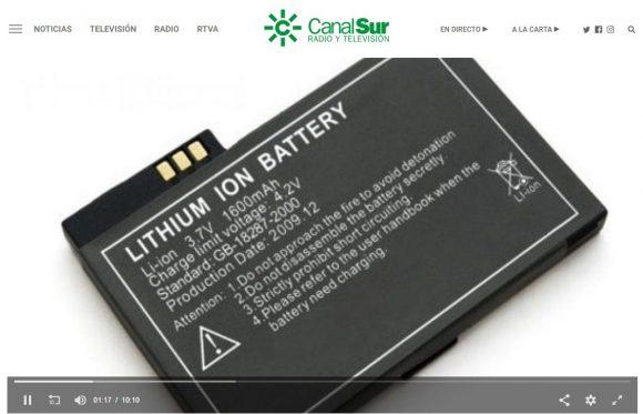 Francis en Canal Sur Radio: El premio Nobel de Química 2019 a las baterías de ión litio