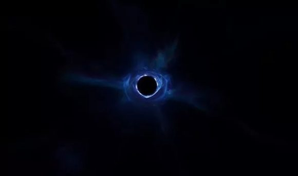 El agujero negro del final de la temporada 10 del juego Fortnite