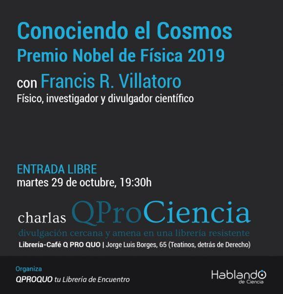 """Conferencia en Málaga: """"Conociendo el Cosmos: Premio Nobel de Física 2019"""""""