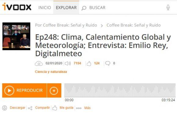 Podcast CB SyR 248: Especial sobre el cambio climático