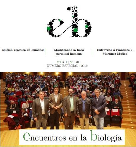 """Francis en Encuentros en la Biología: """"CRISPR en primera persona"""""""