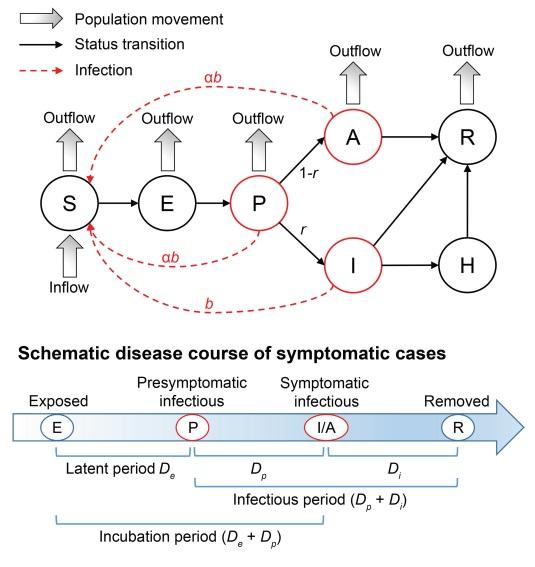 El modelo epidemiológico SAPHIRE para la epidemia de COVID-19 en Wuhan (China)