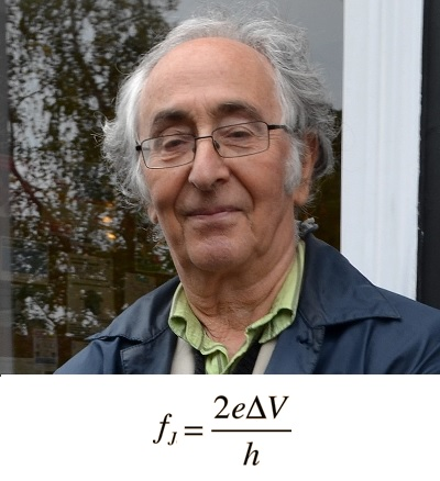 Brian D. Josephson es el padre de la fórmula más precisa de toda la física