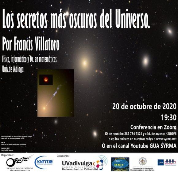 """Conferencia: """"Los secretos más oscuros del Universo"""""""