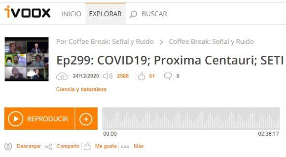 Podcast CB SyR 299: variante inglesa de SARS-CoV-2, Proxima Centauri y Proxima b, y otras noticias
