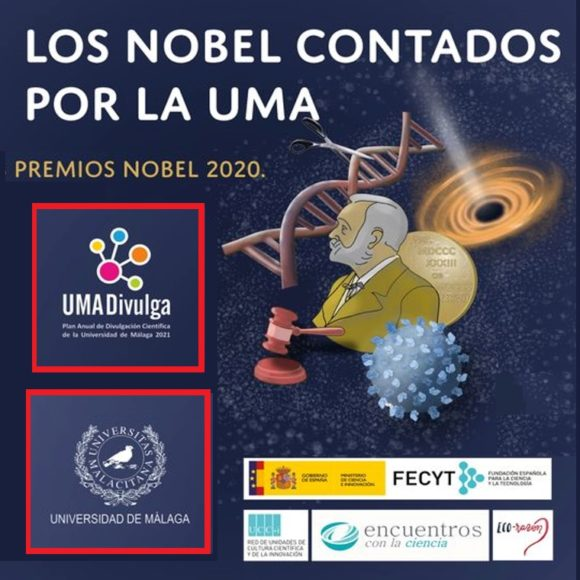 Conferencias en Málaga: Los Nobel contados por la UMA (27–30 abril 2021)
