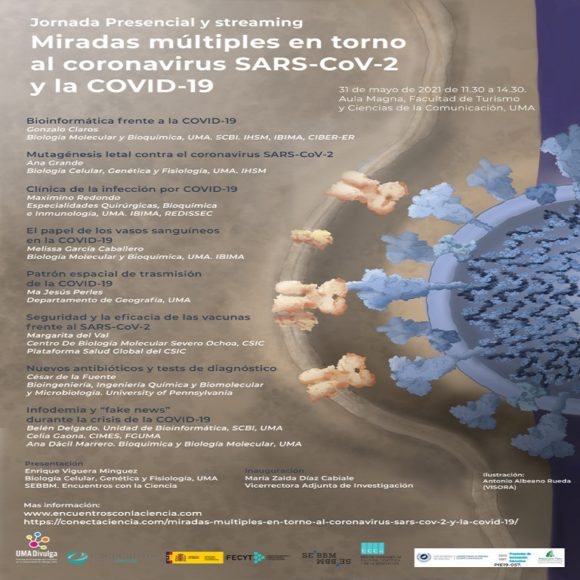 Ciencia para todos T03E35: Jornada sobre el coronavirus y la COVID en la Universidad de Málaga