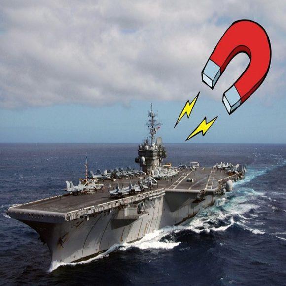 Atención, pregunta: ¿El imán de ITER puede levantar un portaaviones dos metros en el aire?